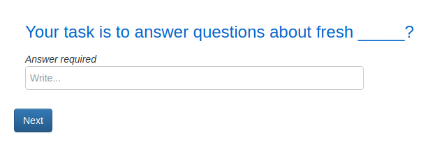 Figure 2. Attention check question example (Psychstudio, 2019)